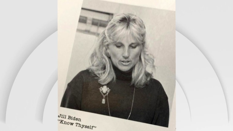 Jill Biden Shares Throwback Photo Of Her With A Young Joe Biden