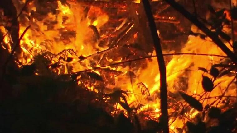 Wildfire smoke in U.S. exposes millions to hazardous pollution