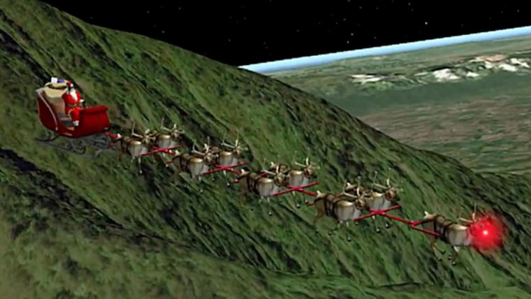 Where is Santa? Track his journey across the globe with ...