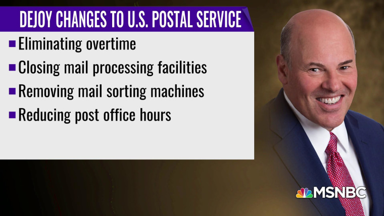 The Absolute Worst': Trump appointee Louis DeJoy continuing to dismantle  Postal Service