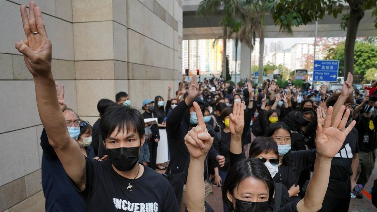 How a Hong Kong protester became one of the territory's youngest exiles