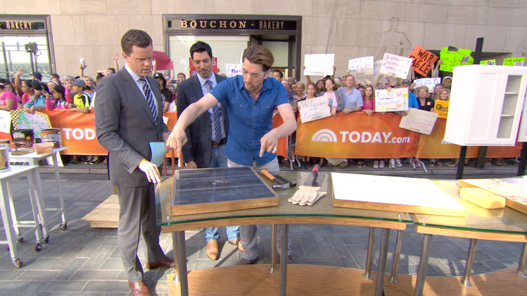 Diy Home Projects Property Brothers Show How To Fix Cracked