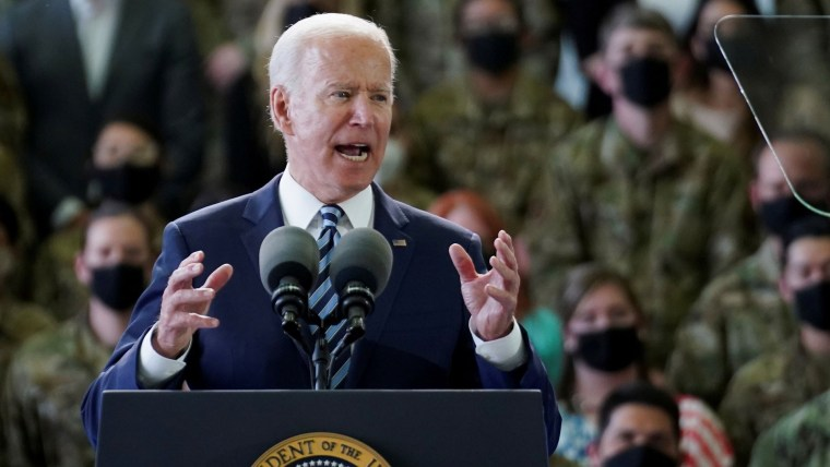 Biden builds on existing relationships in first global test