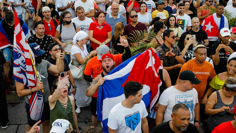 Thousands in Cuba protest over Covid concerns, government frustrations