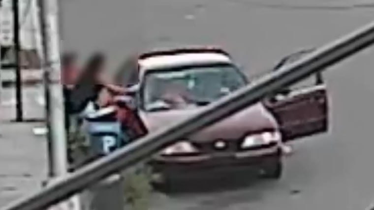 New York Mother Thwarts Attempted Kidnapping by Pulling Five-Year-Old Son Out Suspect's Car Window