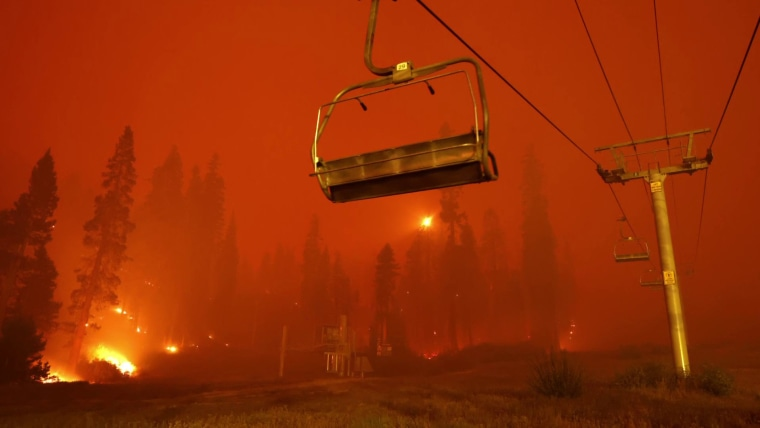 South Lake Tahoe begins recovery from Caldor fire