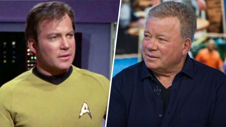 Actor William Shatner on going to space: 'I'm terrified'