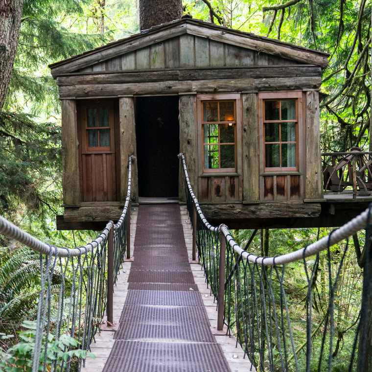 Pete Nelson TreeHouse Point Temple of the Blue Moon