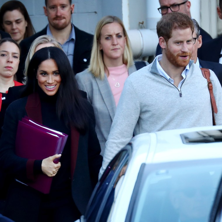 Did Meghan tip us off about pregnancy with these clues