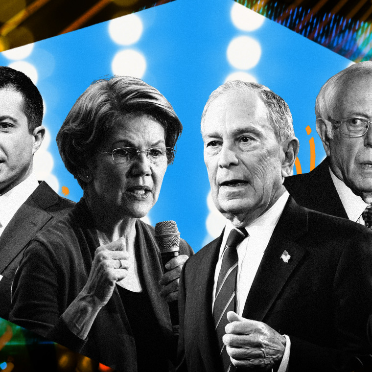 Image: NBC News and MSNBC will host a Democratic primary presidential debate in Las Vegas on Feb. 19, 2020.