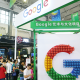 Google stand during the 2018 China International Big Data Industry Expo in Guiyang, China.