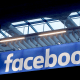 Image: FILE PHOTO: Facebook logo is seen  at a start-up companies gathering at Paris' Station F in Paris