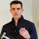 Image: Jacob Wohl speaks at a news conference in Arlington, Va., on Nov. 1, 2018.