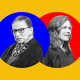 Supreme Court Justice Ruth Bader Ginsburg, Judge Amy Coney Barrett.