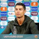 Image: Portugal's Cristiano Ronaldo during a press conference