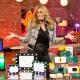 Jill Martin on the set of Steals & Deals
