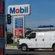 Precios del combustible en San Diego, California, EE. UU., en octubre de 2021.