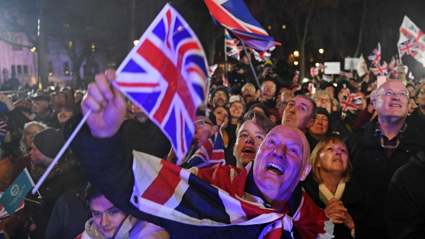 Goodbye, Europe. After years of Brexit turmoil, Britain finally leaves the E.U.