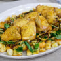 Sam Sifton's Chicken with Caramelized Onions and Croutons + Weeknight Fried Rice