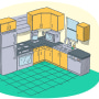 How to deep clean your kitchen quickly