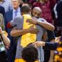 Image: LeBron James, Kobe Bryant