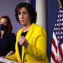 Image: Press Secretary Jen Psaki Holds Media Briefing With Southern Border Ambassador Roberta Jacobson