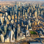 Image: An aerial view of Manhattan on March 7, 2021.