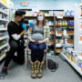 A pregnant woman receives the Pfizer-BioNTech vaccine in Schwenksville, Pa., on Feb. 11, 2021.
