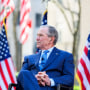 "President George W. Bush appears on NBC's ""TODAY\"" show on April 20, 2021."