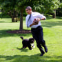 Obama On The South Lawn