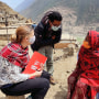 Christie Getman, Mercy Corps' Nepal Country Director.