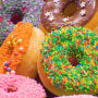 Full Frame Shot Of Multi Colored Donuts