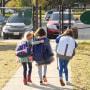 Image: School Children walking