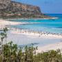 Tourism In Greece - Famous Balos Beach In Crete Island