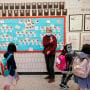 Image: New York City Students, teacher