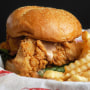 4. Sandwich combo at Raising Cane's