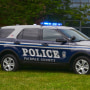 Image: Fairfax County Police Department vehicle.