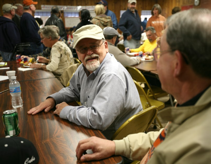 Image: Conn Selmer strike auction and dinner, UAW, Elkhart, Indiana