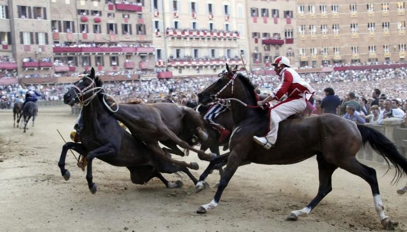 Image: Palio horse race