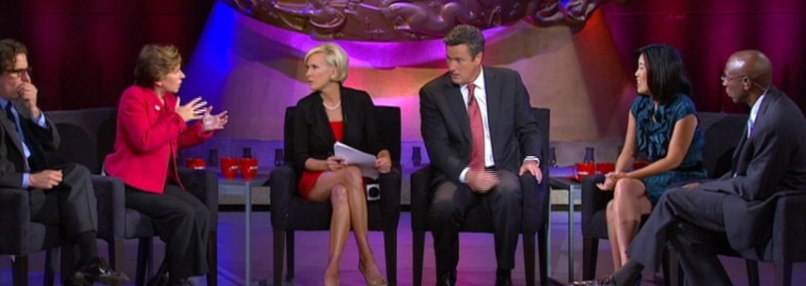 Image: Joe Scarborough panel