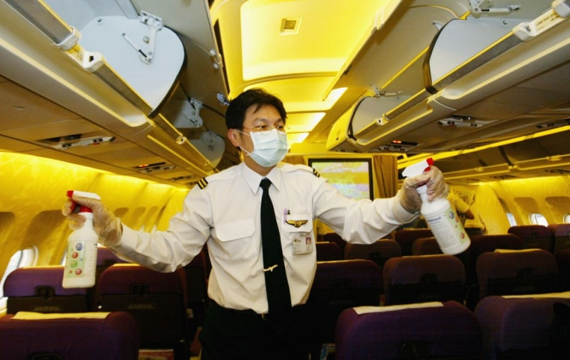 6 Places Germs Breed In A Plane Travel Business Travel