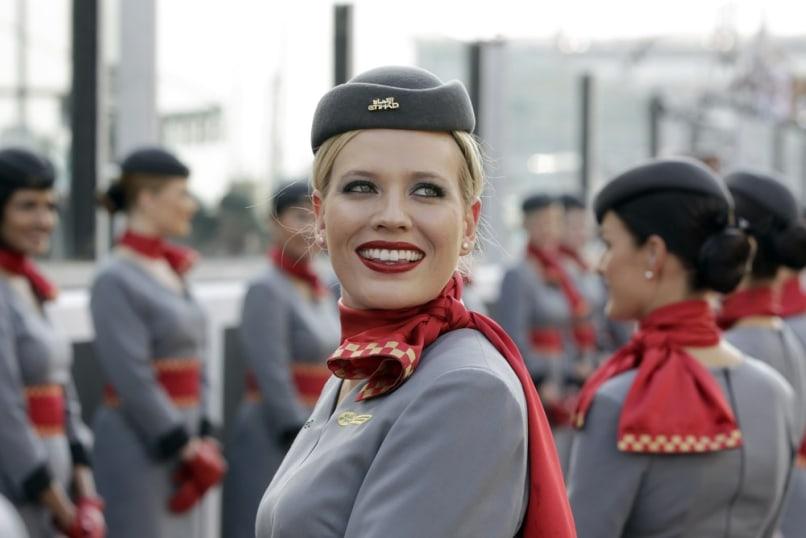 Image: Etihad flight attendants