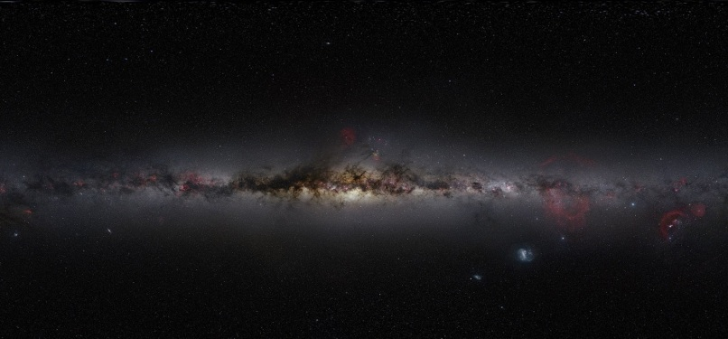 Image: Milky Way mosaic
