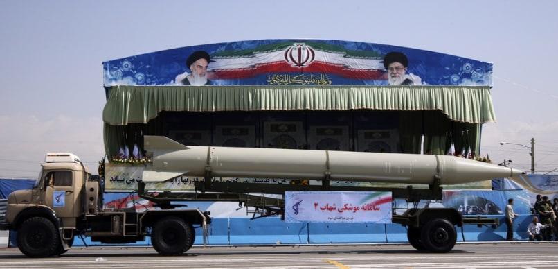 Image: Iranian missile