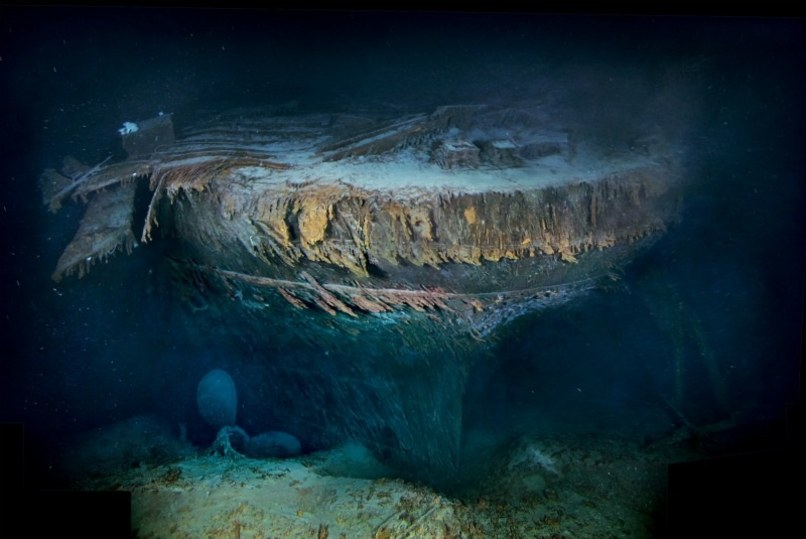 New Images Titanic Shipwreck Revealed