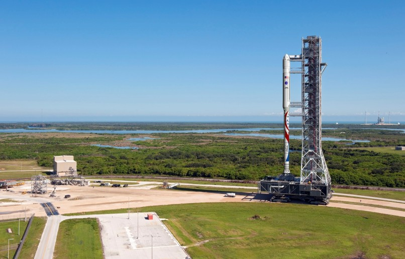 Image: Liberty on Mobile Launcher