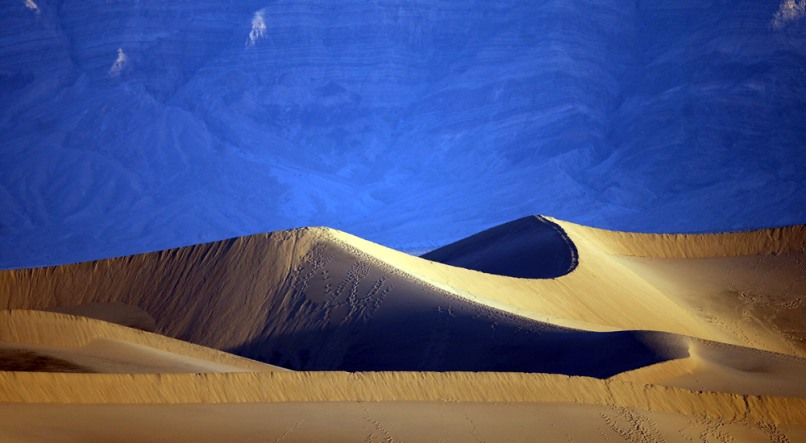 Image: Sand dunes near Stovepipe