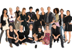 "Image: Cast of ""Project Runway"" season 8"