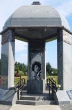 Image: Jimi Hendrix memorial
