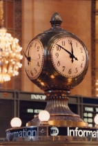 Image: Clock at Grand Central Terminal